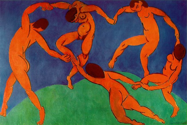 The Dance, 1910 Henri Matisse